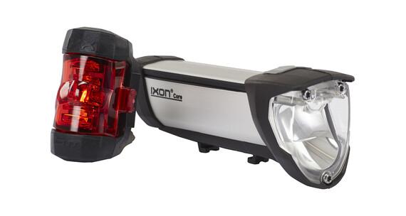 Busch + Müller IXON Core/IXXI - Juego de luces para bicicleta - gris/negro